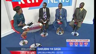 Waliochujwa kwa mchujo wa ugombea urais na tume huru ya IEBC-Darubini ya Siasa : Dira ya Wiki pt 1