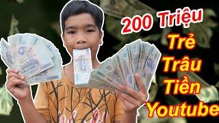 TRẺ TRÂU Nhận 200 Triệu Tiền Youtube Để Chơi Tết   TQ97