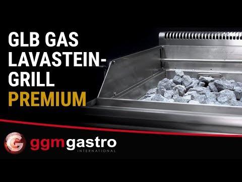 GLB479C   Gas Lavasteingrill