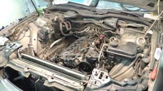 BMW 730D E65 3.0D M57 Ремонт двигателя и ТО Часть 4