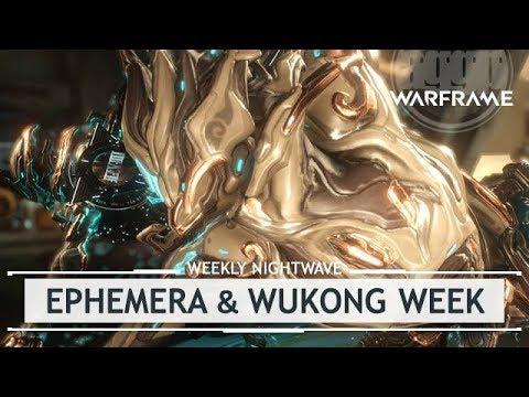 Warframe: Eidolon Ephemera & Wukong Week! [weeklynightwave]