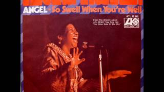 "Aretha Franklin - Angel / So Swell When You're Well - 7"" Germany - 1973"