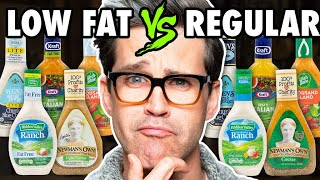 Low Fat vs. Regular Salad Dressing Taste Test