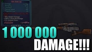 Hyiu Hawk Eye Sniper 1 000 000 DAMAGE