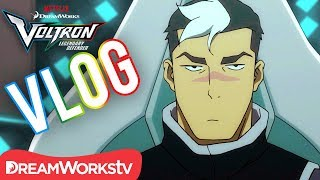 Voltron Vlogs: Shiro | DREAMWORKS VOLTRON LEGENDARY DEFENDER
