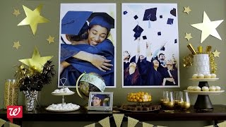 Personalized Grad Party Ideas from Walgreens