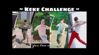 """KPOP IDOLS Doing the Keke Challenge """"In My Feelings Challenge"""""""