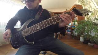 The Acacia Strain - The Hills Have Eyes (Guitar Cover)
