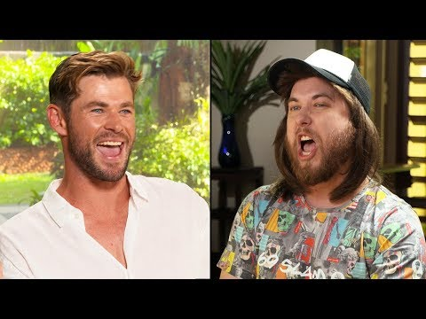 Ozzy Man & Chris Hemsworth Interview + GUESS THE AUSSIE SLANG