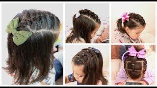 Peinado Para Ninas Faciles Pelo Corto Free Online Videos Best