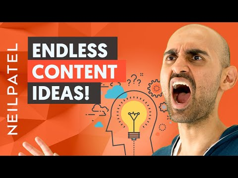 How to Find Endless Content Ideas With One FREE Tool