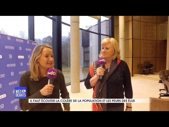 Wéo & débats avec Nadège Lefebvre, Présidente du Conseil départemental de l'Oise