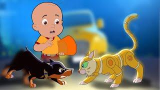 Mighty Raju - Super Intelligent Robot   रोबोट बिल्ली   Cartoons for Kids in Hindi
