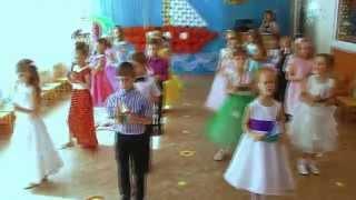 """Танец """"Парус детства"""" (фрагмент выпускного утренника)  МДОУ № 1 """"Карамель"""" г. Вологда"""