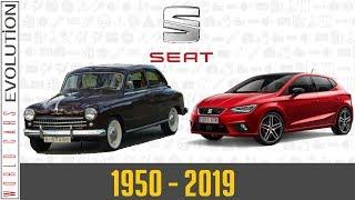 W.C.E - Seat Evolution (1950 - 2019)