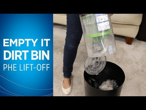 How to Empty the Dirt Tank on your Pet Hair Eraser® Lift-Off® Video