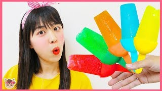 Supermarket song nursery rhymes 과일 아이스크림 만들기 놀이 인기 동요 Color Songs for kids