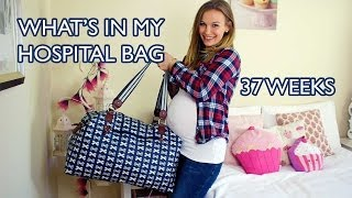 What's In My Hospital Bag - 37 Weeks Pregnant!
