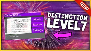 NEW ROBLOX EXPLOIT: DISTINCTION (PATCHED) UNRESTRICTED LEVEL 7 SCRIPT EXECUTOR W/ROBLOX ANTI-BAN!