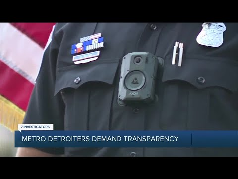Some of Metro Detroit's largest police departments still aren't using body cameras