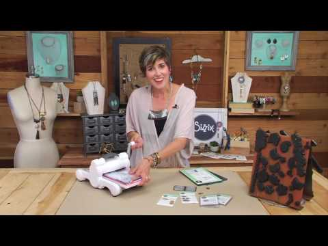 Sizzix Jewelry Studio: Embossing Metal Blanks with Candie Cooper
