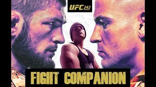 UFC 242: Nurmagomedov vs. Poirier - Mexican Fight Companion