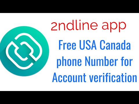 Download 2nd Line Free U S Phone Number For Your Any Account Veri