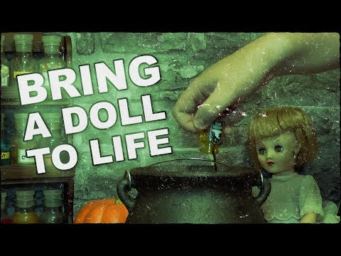 Bring A Doll To Life Potion