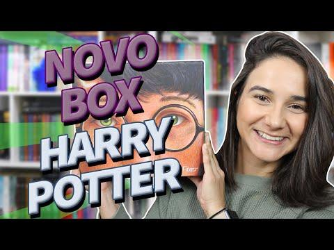 UNBOXING Box Harry Potter Edição Comemorativa 20 anos | Edição brasileira