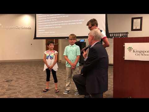 Video: Kingsport school board June 14, 2018