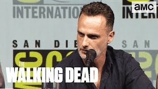 The Walking Dead: Andrew Lincoln On His Final Season Comic-Con 2018 Panel Highlights