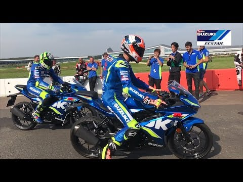 RINS & IANNONE RATE THE NEW SUZUKI GSX-R125