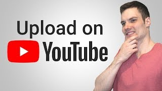 How to upload youtube videos without video