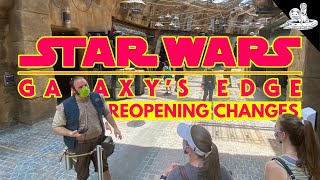 Galaxy's Edge Has Changed! [Disney World Reopening]