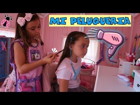 Mi propia peluquería 👧 Los juguetes de Arantxa