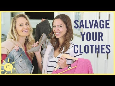 STYLE & BEAUTY | Fix Your Clothes! (Holes, Shrinkage, Pilling...)