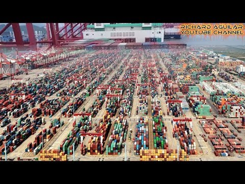 China Innovation! Watch How China's Biggest Automated Container Terminals Operate Automatically