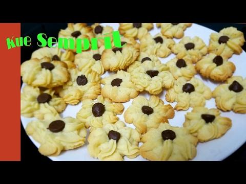 Video Resep Kue Semprit
