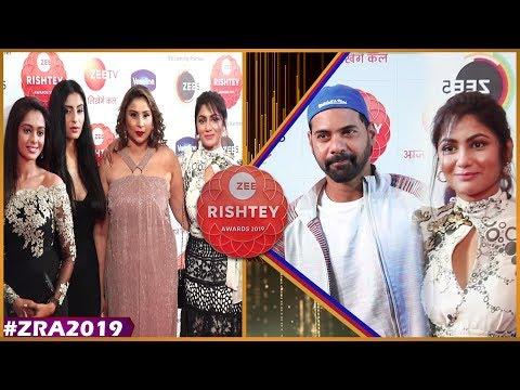 Kum Kum Bhagya Star Cast   Shabbir Ahluwalia ,Sriti Jha   Zee Rishtey Awards 2019