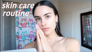 SKIN CARE ROUTINE I'm starting at 20 to look 20 forever (UNSPONSORED)