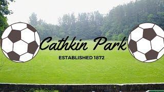 Abandoned Football Stadium, Cathkin Park Glasgow Drone Footage