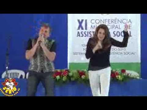 Wilson e Soraia na Conferência Municipal de Assistência Social de Juquitiba 2017