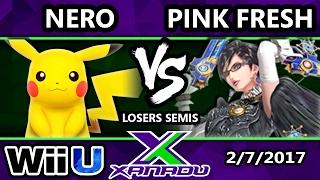 S@X 188 - Nero (Pikachu) Vs. VGBC | Pink Fresh (Bayonetta) - SSB4 Losers Semis - Smash for Wii U