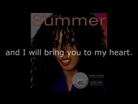 "Donna Summer - State of Independence (7"" Single) LYRICS SHM ""Donna Summer"" 1982"