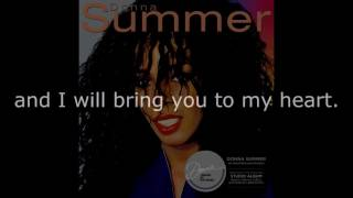 "Donna Summer - State of Independence (7"" Single) LYRICS SHM ""Donna Summer"" 1982"