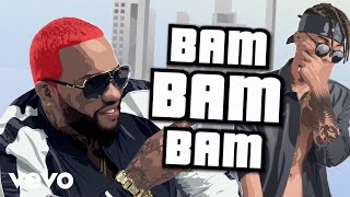 Bam Bam (Remix letra) - Franco El Gorila (Video)