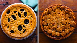 How to Decorate Pies! | Baking Recipes and Ideas by So Yummy