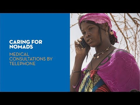 Caring for nomads: medical consultations by telephone