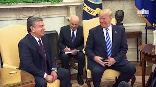 Итоги встречи Мирзияева с Трампом. Мирзияев поблагодарил за помощь в оккупации Каракалпакстана и пер