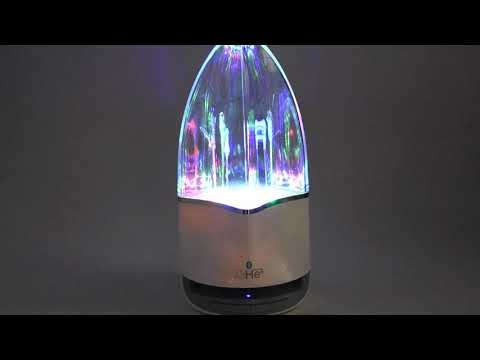Youtube Video for Aqua Bluetooth Speaker - Water Dancing!